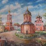 В международном конкурсе детского творчества «Красота Божьего мира» примут участие работы на тему «Высоко-Петровский монастырь-жемчужина Москвы»