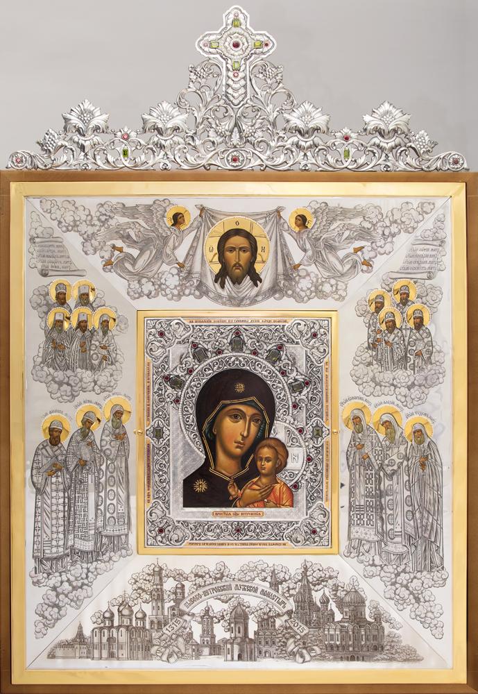 Икона Божьей Матери «Патриаршая». 1111111